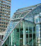Glass building in London UK Stock Image