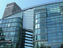 Glass building in London UK Royalty Free Stock Photos