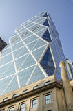 Glass Building in New York. Glass Architecture in Manhattan, New York Stock Image