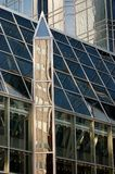 Glass building in Pittsburgh. Pictured in daylight Stock Image