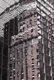 Glass Building Reflection Stock Image