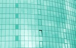 Glass building`s windows Stock Images