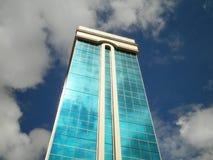 Glass Building Sky Reflection Stock Photo