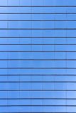 Glass building skyscraper texture pattern. Blue Glass building skyscraper texture pattern flat plane Royalty Free Stock Photography