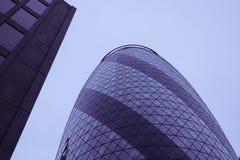 Glass building skyscrapers Stock Photos