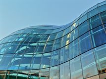 Glass building structure Royalty Free Stock Photo
