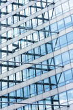 Glass building, toned image Royalty Free Stock Photography