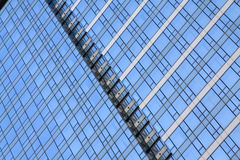 Glass building wall Royalty Free Stock Photos