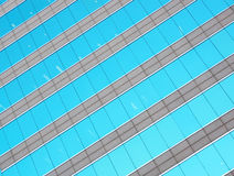 Glass building wall Stock Photo