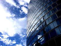 Glass Buildings 200. A modern glass building in central London Royalty Free Stock Images