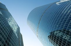 Glass buildings Stock Image