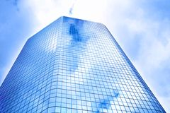 Glass buildings Stock Images