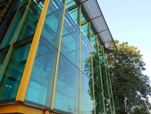 Glass buildings Royalty Free Stock Photography