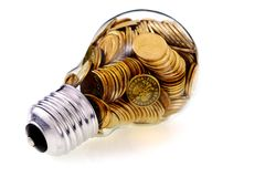 Glass bulb Stock Photography