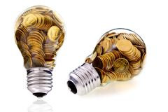 Glass bulb Royalty Free Stock Images