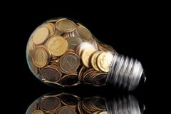Glass bulb Royalty Free Stock Photos