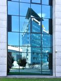 Reflections of modern architecture. stock photo