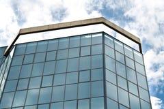 Glass byggnad vektor illustrationer