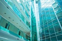Glass byggnad Arkivfoton