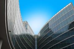 Glass byggnad Royaltyfri Fotografi