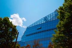 Glass byggnad Fotografering för Bildbyråer