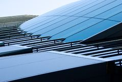 Glass byggnad Arkivbild