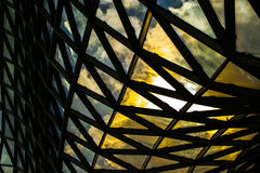 Glass byggnad för modernt torn Royaltyfri Foto