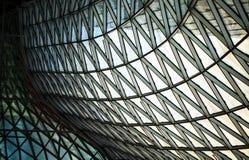 Glass byggnad för modernt torn Arkivfoto