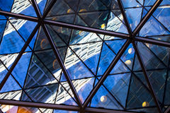 Glass byggnad för modernt torn Fotografering för Bildbyråer