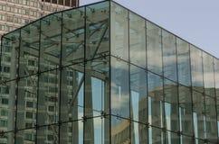 Glass byggnad i Boston, MOR Royaltyfria Bilder