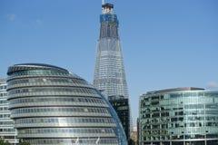 glass byggnader Fotografering för Bildbyråer