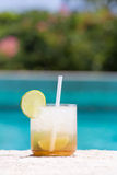 Glass of Caipirinha Royalty Free Stock Images