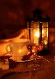Glass of Calvados Stock Photography