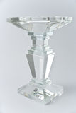 Glass candlestick Royalty Free Stock Image