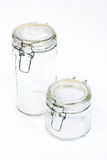 Glass Canisters Stock Photos