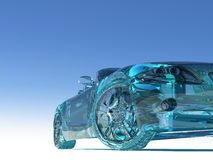 Glass car Royalty Free Stock Photos