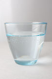 Glass with carbonated water Royalty Free Stock Photo