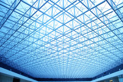 Glass ceiling Royalty Free Stock Image