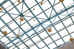 Glass ceiling Stock Photography
