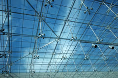 Glass ceiling Royalty Free Stock Photography
