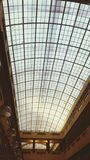 Glass ceiling. Architecture  light building Royalty Free Stock Images