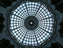 Glass ceiling dome Royalty Free Stock Photos