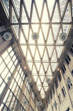 Glass ceiling in hall of  new State office Royalty Free Stock Images