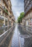 street in Bordeaux in old center  Stock Photo