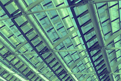 Glass ceiling. Royalty Free Stock Photo
