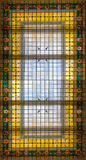 Glass ceiling at the Museo Naval de Madrid Royalty Free Stock Image