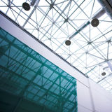 Glass ceiling in office Stock Photos