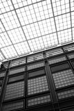 Glass ceiling of school building Stock Image