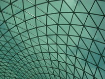 Glass Ceilings. In Morden Building royalty free stock photography