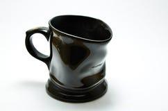 Glass ceramic black Stock Image